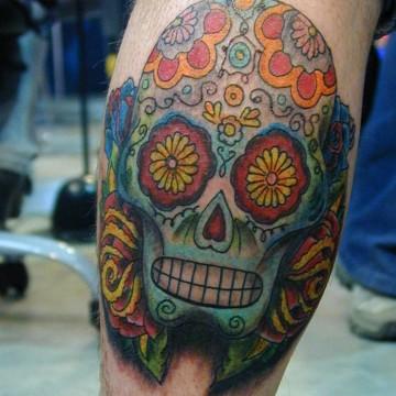 k-Mex skull
